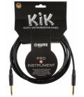 Kabel instrumentalny Klotz KIKA045PP1 4,5m 2 x jack Amphenol