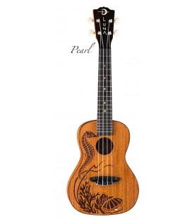 Luna PEARL ALL SOLID - ukulele koncertowe