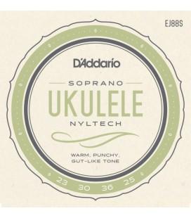 Struny do ukulele sopranowego D'Addario EJ88S