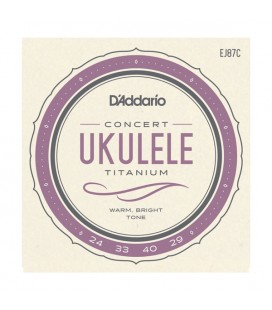 Struny do ukulele koncertowego D'Addario EJ87C