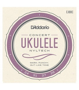 Struny do ukulele koncertowego D'addario EJ88C