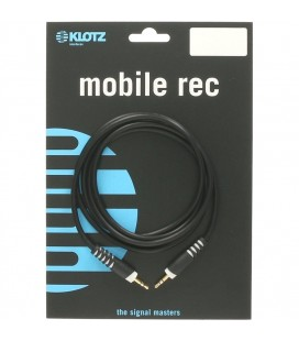 Kabel Mobile Rec KLOTZ 2 x mały Jack stereo AS-MM0090 0.9m
