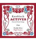 Struny do gitary klasycznej Knobloch 400 Double Silver Q.Z. High Tension