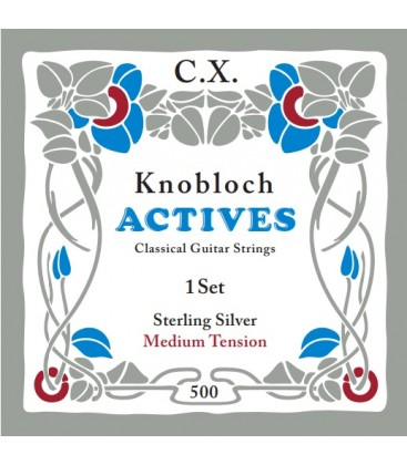 Struny do gitary klasycznej Knobloch 500 Double Silver C.X. Medium Tension