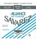 Struny do gitary klasycznej SAVAREZ 540J HT Classic