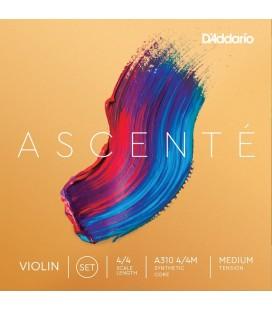 Struny do skrzypiec D'Addario Ascente A310 4/4M