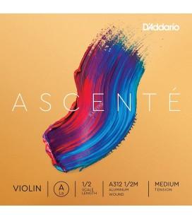 Struna A do skrzypiec D'Addario Ascente A310 1/2M