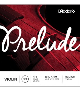 Struny do skrzypiec D'Addario - J810 4/4M PRELUDE Medium