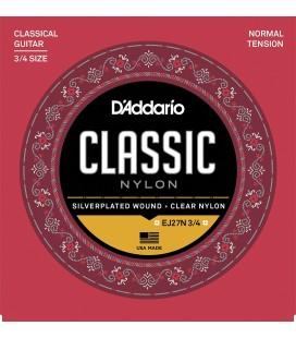DADDARIO EJ27N 3/4 - struny do gitary klasycznej