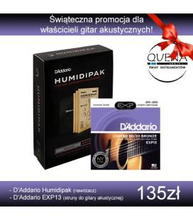Zestaw: D'Addario Humidipak HPK-01 i Struny EXP13