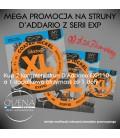 PROMOCJA Struny do gitary elektrycznej D'Addario EXP110 2+1