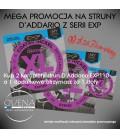 PROMOCJA Struny do gitary elektrycznej D'Addario EXP120 2+1