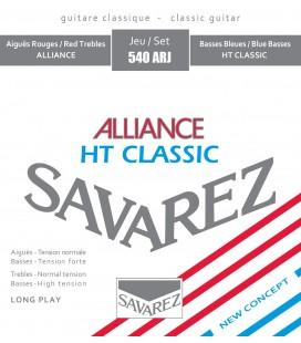 Struny do gitary klasycznej SAVAREZ 540ARJ HT Classic