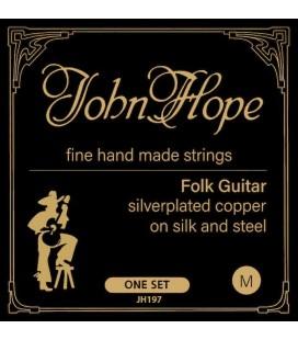 Struny do gitary akustycznej - folkowej JOHN HOPE JH197