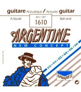 Struny do gitary akustycznej Savarez Argentine 1610