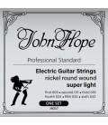 Struny do gitary elektrycznej JOHN HOPE JH217 super light