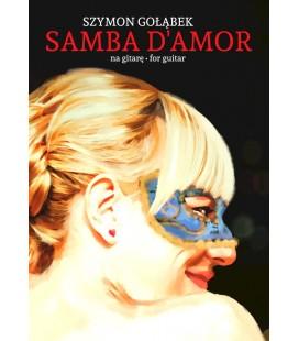 Nuty gitarowe Szymon Gołąbek SAMBA D'AMOR SC002