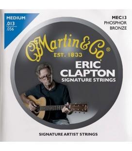 Struny do gitary akustycznej MARTIN MEC13 Eric Clapton Phosphor Bronze