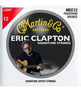 Struny do gitary akustycznej MARTIN MEC12 Eric Clapton Phosphor Bronze