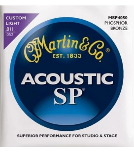 Struny do gitary akustycznej MARTIN MSP4100 Phosphor Bronze