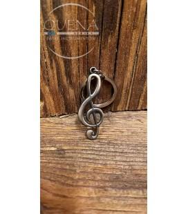 Breloczek klucz wiolinowy