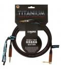 Kabel instrumentalny Klotz TITANIUM Walnut TIW0600PR 6m