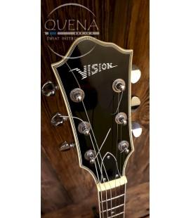 Gitara elektryczna pół-akustyczna hollow body VISION