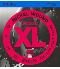 Struny do gitary basowej D'Addario EXL170