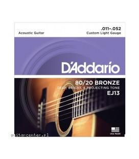 D'Addario EJ13 - struny do gitary akustycznej