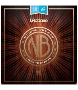 D'Addario NB1047-12 - struny do gitary akustycznej 12-strunowej