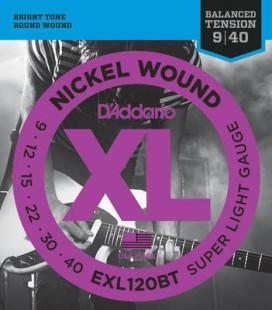 D'Addario XL - EXL120 - struny do gitary elektrycznej