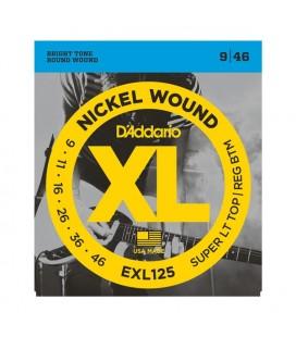 D'Addario XL - EXL125 - struny do gitary elektrycznej