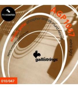 GALLI STRINGS AGP1047 - struny do gitary akustycznej
