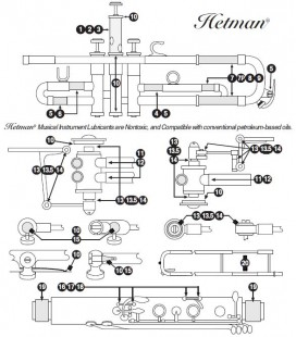 Oliwka syntetyczna HETMAN Classic Piston Lubricant 3