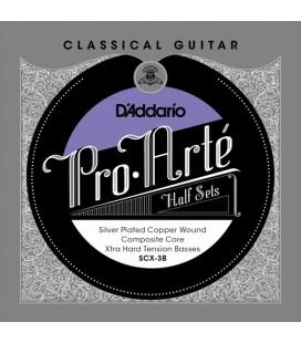 Struny do gitary klasycznej D'Addario Pro-Arte SCX-3B Half Sets