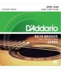 DADDARIO EZ890 Bronze - struny do gitary akustycznej