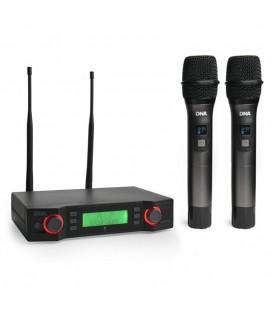 Bezprzewodowy zestaw mikrofonowy DNA VM - Dual Vocal Set