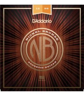 Struny do gitary akustycznej DADDARIO NB1256