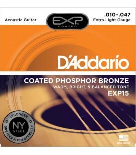 Struny do gitary akustycznej DADDARIO EXP15