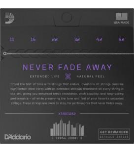 D'ADDARIO XTABR1152 80/20 Bronze - Struny do gitary akustycznej 11-52