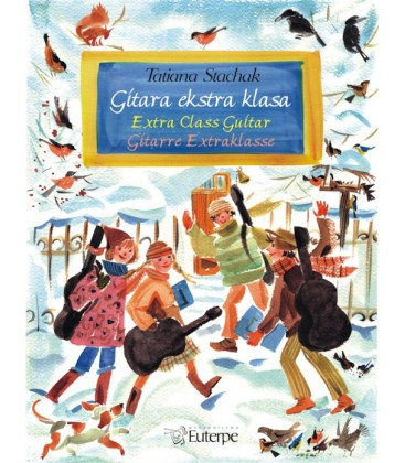 Gitara Ekstra Klasa - Tatiana Stachak wydawnictwo Euterpe