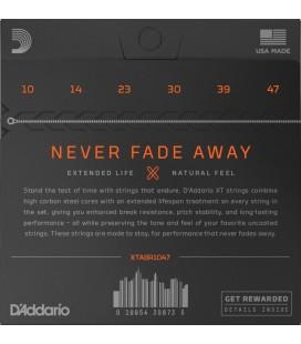 D'ADDARIO XTABR1047 80/20 Bronze - Struny do gitary akustycznej 10-47