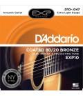 DADDARIO EXP10 - struny do gitary akustycznej