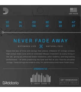 D'ADDARIO XTABR1047-12 80/20 Bronze - Struny do gitary dunastostrunowej akustycznej 10-47