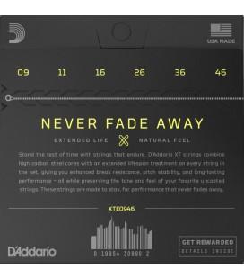 D'ADDARIO XTE0946 Nickel Plated - Struny do gitary elektrycznej 09-46