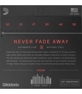 D'ADDARIO XTE1052 Nickel Plated - Struny do gitary elektrycznej 10-52