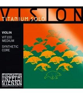 Struny do skrzypiec Thomastik Vision Titanium Solo VIT100