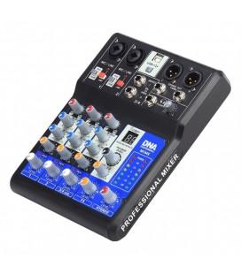 Mikser analogowy audio DNA MC04X z procesorem DSP