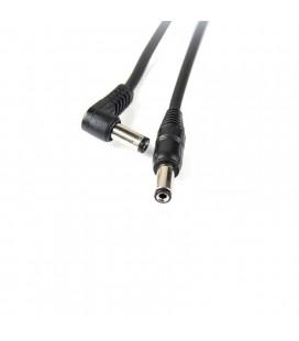 Standardowy kabel zasilania DC (5,5/2,1) 50 cm Yankee do (kostek) efektów gitarowych