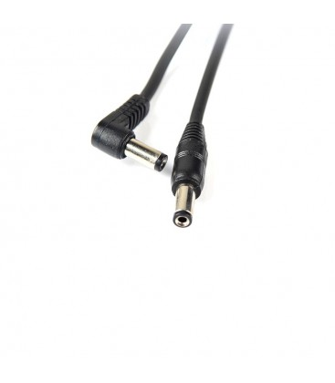 Standardowy kabel zasilania DC (5,5/2,1) Yankee do (kostek) efektów gitarowych